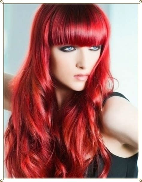 mode germany glamouroese rote haare frisuren