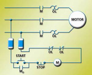 Electrical Engineering World  Simple Motor Control Circuit