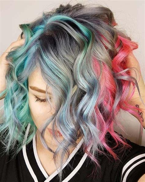 Best 25 Short Dyed Hair Ideas On Pinterest Short Hair