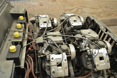 Jeep With Four Harley Motorcycle Engines
