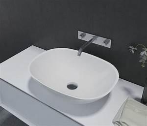Waschbecken Aufsatz Für Badewanne : aufsatzbecken aufsatz waschbecken oval pb2202 55 x 40 x 15 cm badewelt waschbecken ~ Markanthonyermac.com Haus und Dekorationen