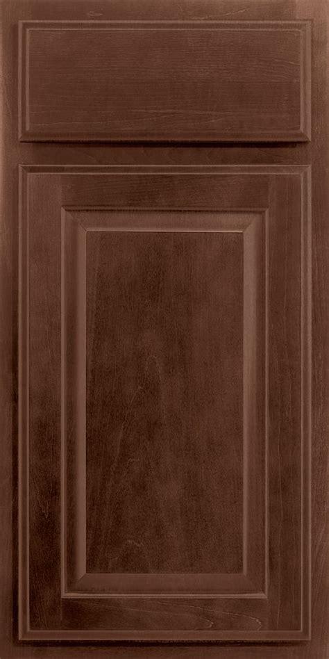merillat kitchen cabinet doors merillat classic seneca ridge cabinet door in pecan stain 7440