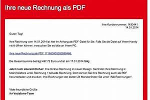 Meinvodafone De Rechnung : trojaner angriff falsche rechnungen von vodafone im umlauf die welt ~ Themetempest.com Abrechnung