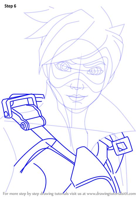 learn   draw tracer face  overwatch overwatch