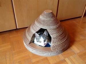Objet En Carton Facile A Faire : choisir une maisonnette pour chat ~ Melissatoandfro.com Idées de Décoration
