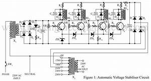 Automatic Voltage Stabilizer Circuit