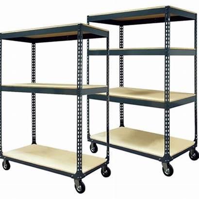 Mobile Shelving Shelf Carts Cart Boltless Storage