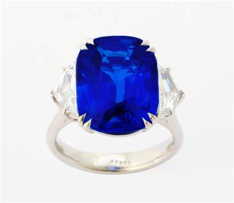 white saphire birma unheated burma royal blue sapphire platinum ring for sale at 1stdibs