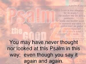 23 Psalm Explained
