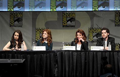 Michelle Fairley, Richard Madden, Rose Leslie, and Emilia ...