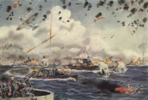 Uss Midway Flight Deck by The Campaign For Guadalcanal Paintings And Illustrations