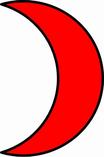 Moon Crescent Clipart Half Clip Cliparts Clipground
