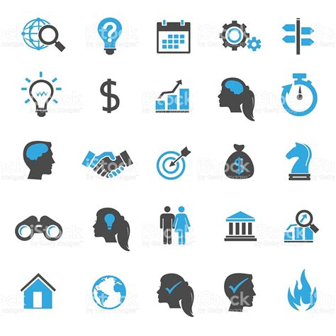14701 business icon vector business icons stock vector more images of arranging