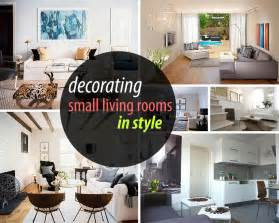how to decorate a small living room - How To Decorate A Small Livingroom