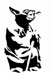 Yoda stencil template | Stencil Templates | Pinterest ...