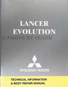 2005 Mitsubishi Lancer Evolution Wiring Diagram Manual