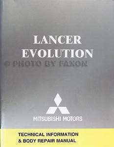 2005 Mitsubishi Lancer Evolution Wiring Diagram Manual