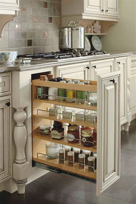 base pantry pull  cabinet schrock cabinetry