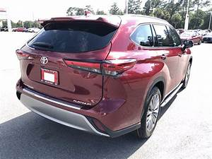 New 2020 Toyota Highlander Platinum Sport Utility In
