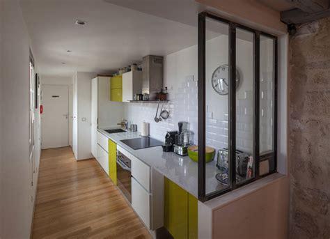 plan d une cuisine comment amenager une cuisine en longueur maison