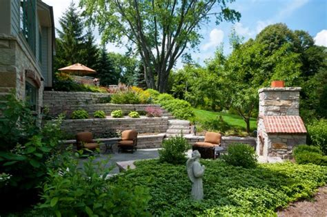 dramatic terraced planter ideas  creating