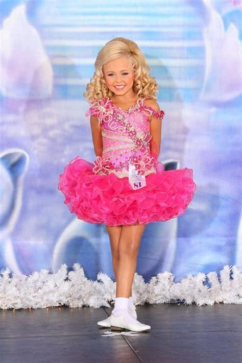 Beauty Dresses Little Girls Pageant Gowns Fuchsia Organza Crystal Beading Cake Princess Mini