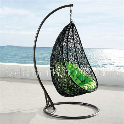 china outdoor rattan chair casual hanging basket swing