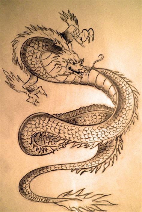 japanese traditional dragon  rizb  deviantart