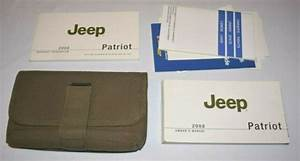 2008 Jeep Patriot Owners Manual Guide Book Set With Case