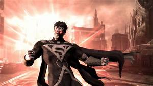 Superman's Blackest Night costume in Injustice: Gods Among Us