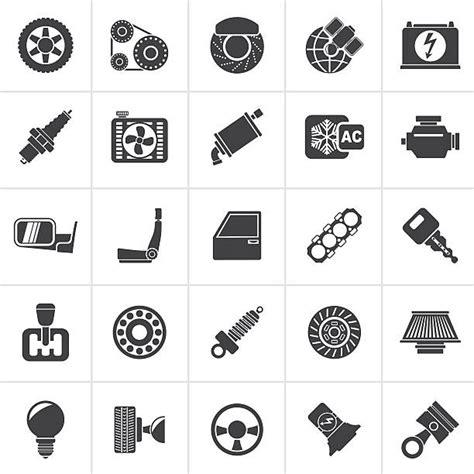 top  car parts clip art vector graphics