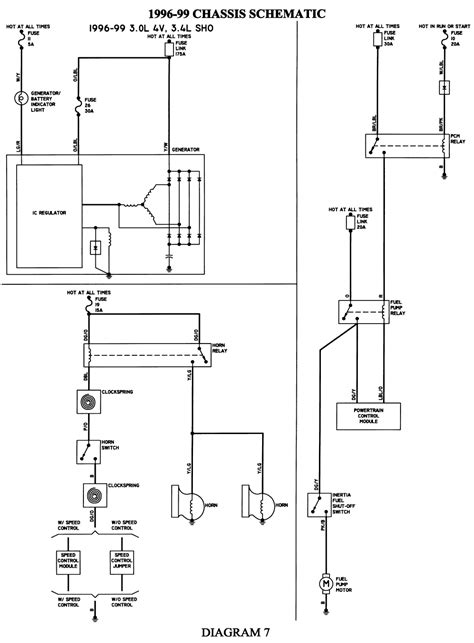 Fl80 Freightliner Wiper Circuit Diagram by No Fuel Activation In Ford Taurus Bat Auto Technical
