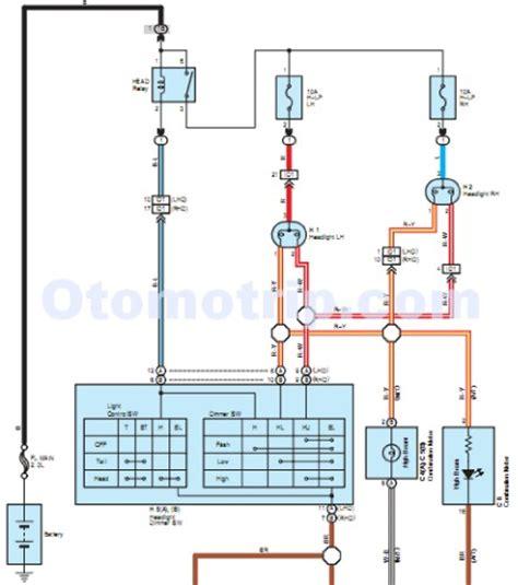 Wiring Diagram Kelistrikan Toyotum Avanza by Skema Wiring Diagram Kelistrikan Mobil Otomotrip