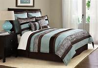 teal and brown bedding How to Design Teal and Brown Bedding Linens | atzine.com