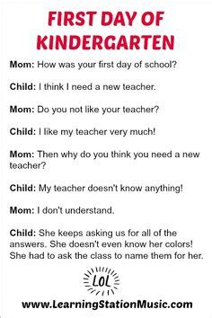 funny first day of kindergarten quotes
