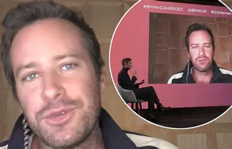 Armie Hammer says he's had difficulties dealing with ...