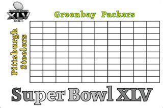super bowl board bowl xlv betting daily dish
