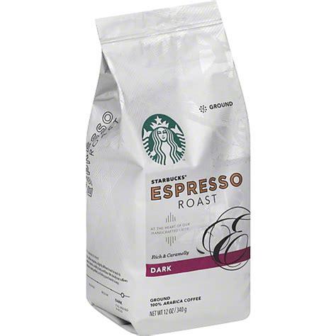 The region adds to a he flavor of the bean. Starbucks Coffee, 100% Arabica, Ground, Dark, Espresso Roast   Shop   Super Food Plaza