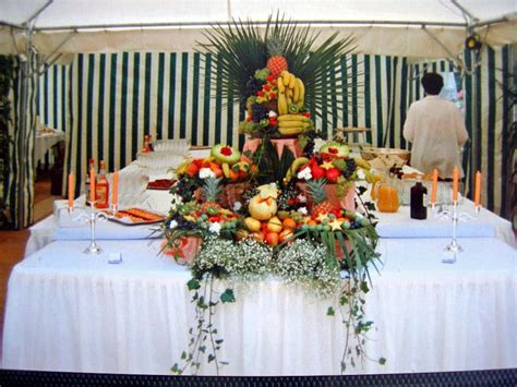 cuisine antillaise pyramide de fruits buffet photo de photos cuisine