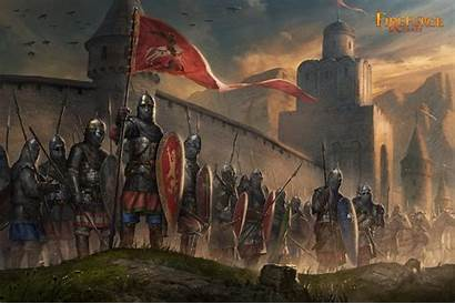 Medieval Russian Infantry Army Fantasy Artwork Miniatures