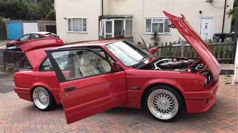 bmw   sale red genuine  tech   sport car  sale