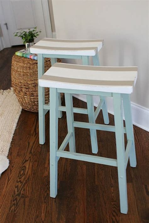 saddle seat bar stools bloggers  diy ideas