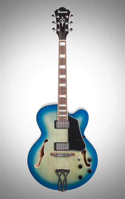 Ibanez AF75 Artcore Hollowbody Electric Guitar, Jet Blue Burst