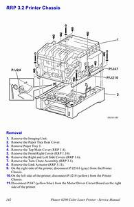 Xerox Phaser 6200 Parts List And Service Manual