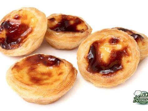 bernard cuisine recettes de pasteis de nata de la cuisine de bernard