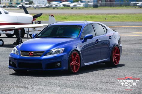 custom lexus custom lexus is f on vossen wheel from puerto rico