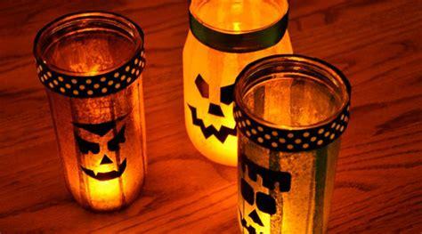 diy halloween mason jars lighting homemydesign