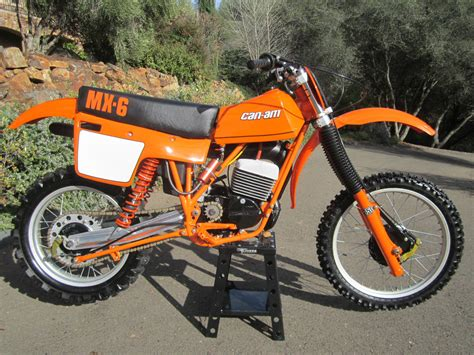 can am motocross bikes restored can am mx6 250b 1981 photographs at classic
