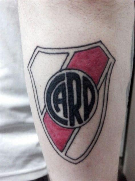 escudo de River Plate 2015 by Chatran Tatuajes para