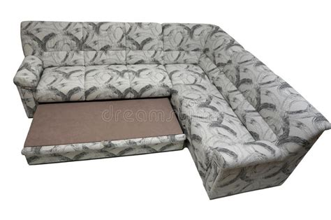 modern expandable corner sofa stock photo image  grey